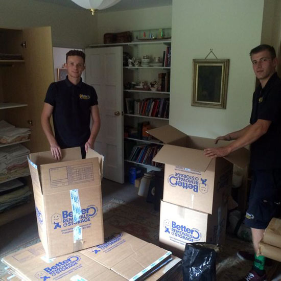 Packing Boxes - Removal Men