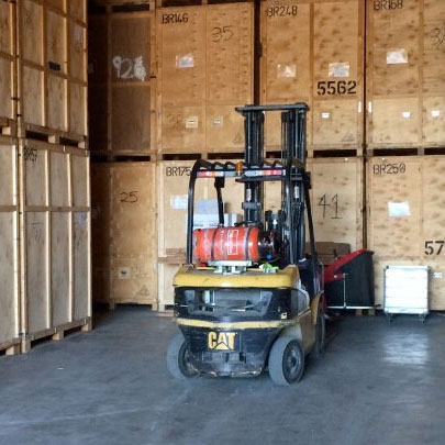 Storage Facility - Fork Lift Truck