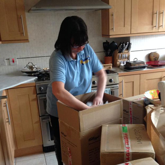 Kitchen Packing
