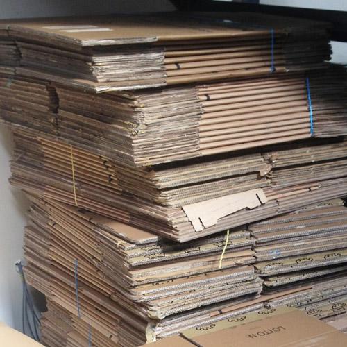 Buy used cardboard boxes