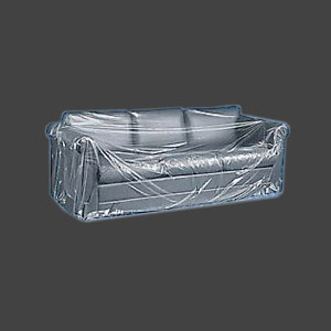 A Plastic Sofa Cover which is for a 2 or a 3 seater sofa