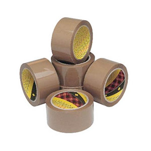 Brown Tape Low Noise Pack of 6